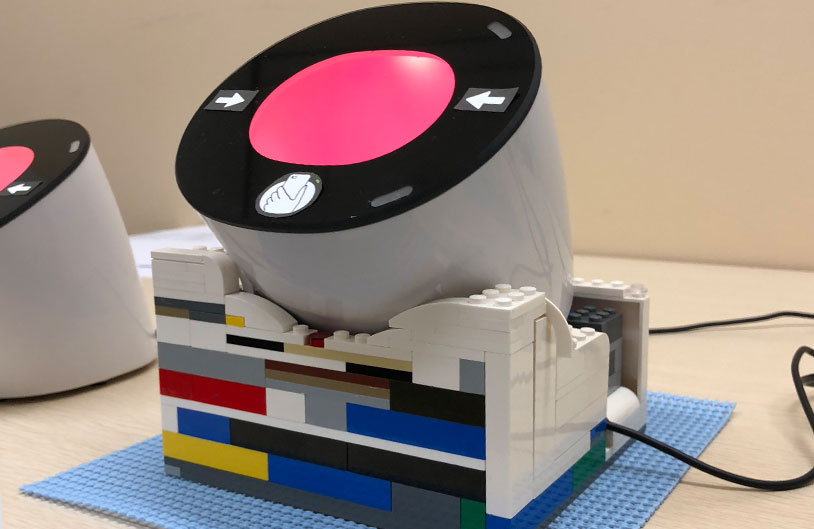 The bCODE Scanner - Prototyping improvements in lego